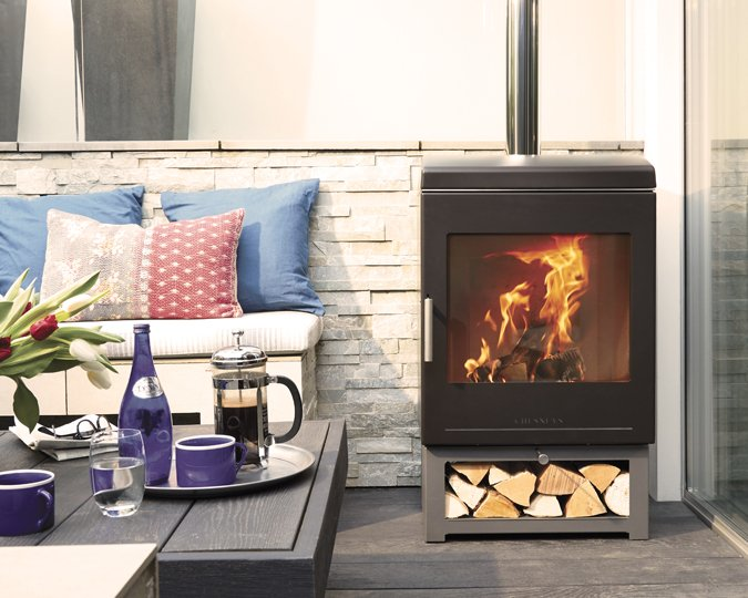 Clean Burn outdoor woodburner from Chesney