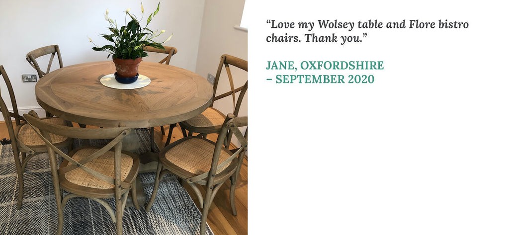 Testimonial from Jane in Oxfordshire