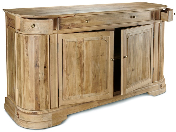 Large reclaimed pine sideboard