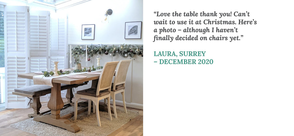 Testimonial from Laura in Surrey