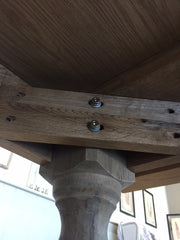 Montague table base fixing