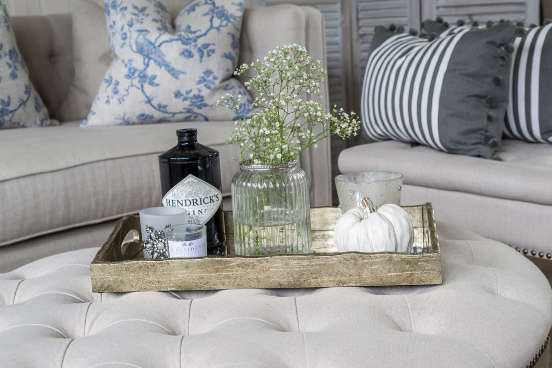 Fine How To Style An Ottoman Coffee Table Ocoug Best Dining Table And Chair Ideas Images Ocougorg