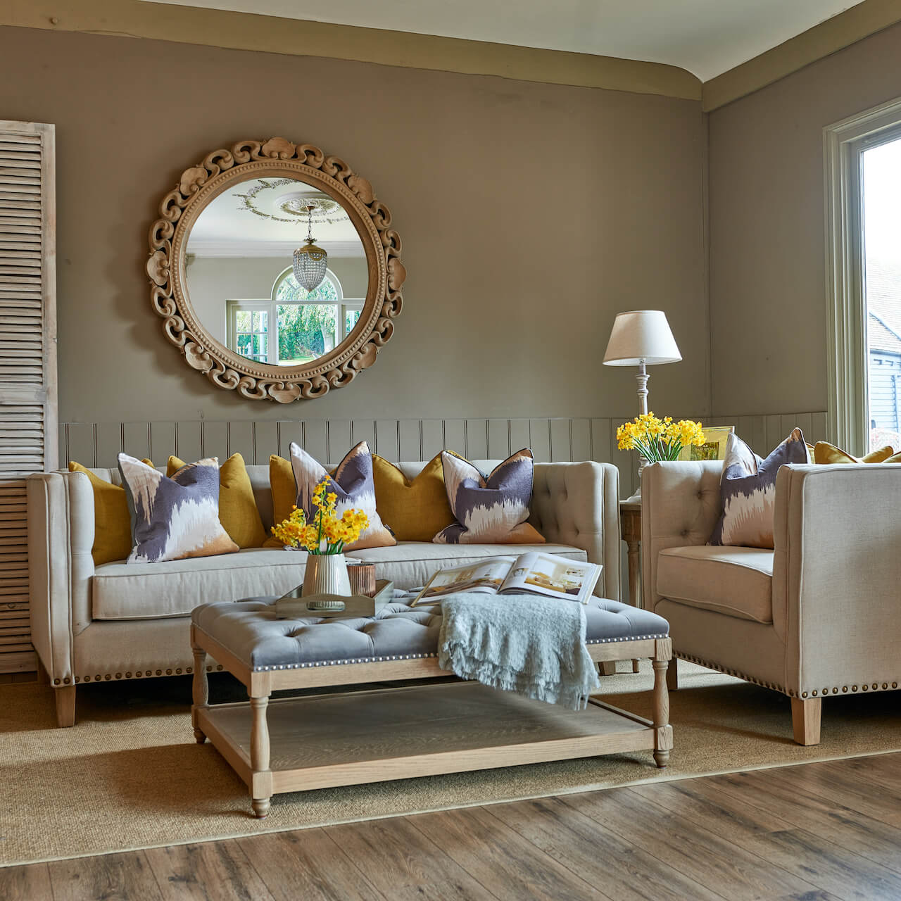 Yellows and greys – on trend colours for 2021 at La Residence Interiors