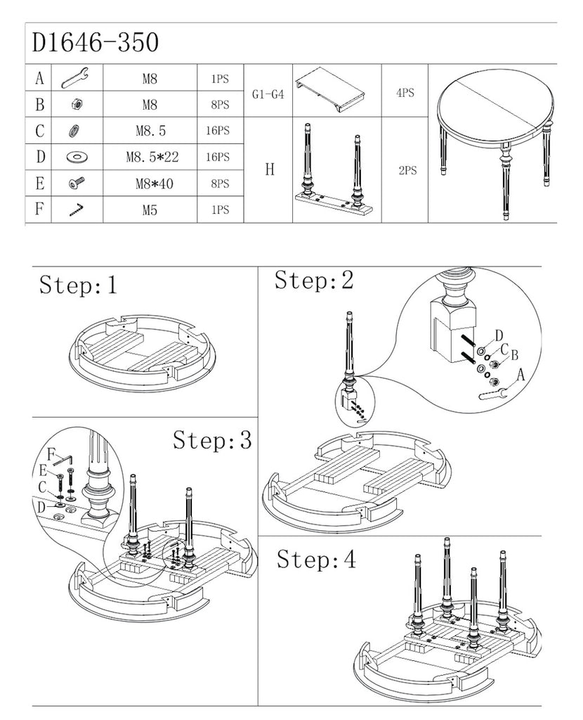 Brunswick assembly instructions