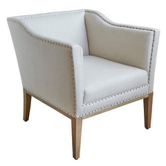 Luxury Armchair Arthur in Oatmeal