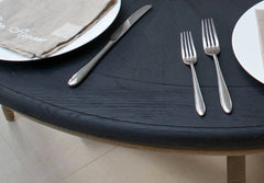 Belmont Round Table Black Painted Top
