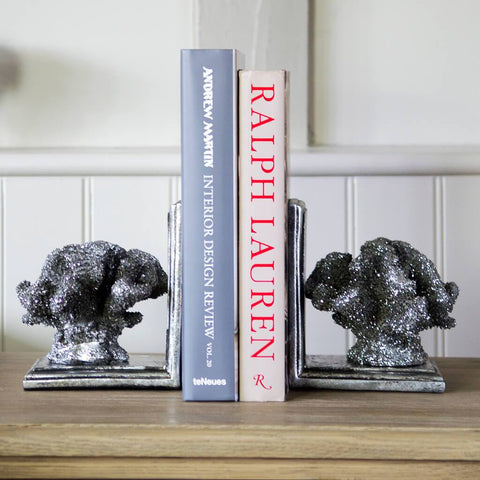 Decorative Coral Bookends