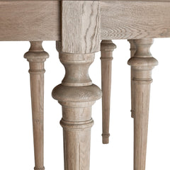 Brunswick Extending Oak Dining Table