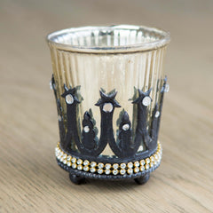 Votive Candle With Jewels
