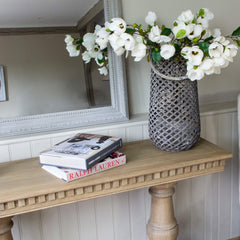 Claremont Console Table - Weathered Oak