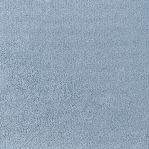 Pale Blue Velvet Fabric Swatch