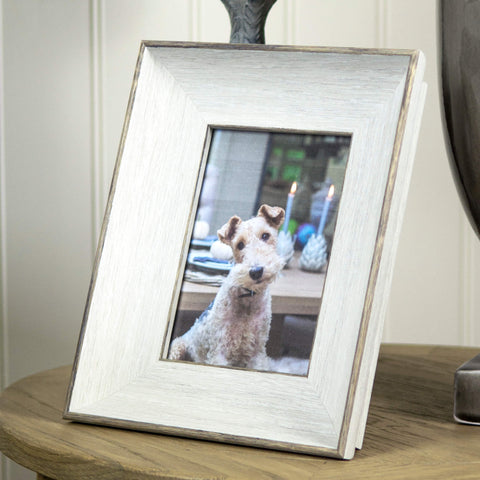 Large White Frame