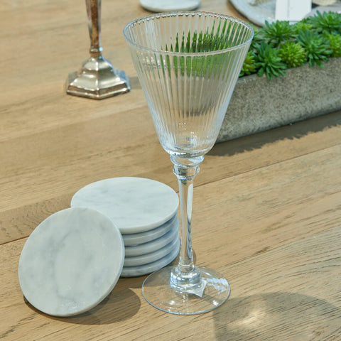 Marble Coasters – Set of 6