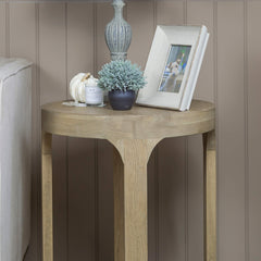 Compton Side Table - Weathered Oak