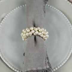 Pearl Wreath Napkin Ring