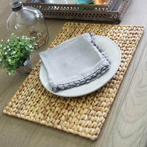 Light Grey Linen Napkin