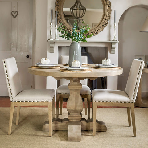 Wolsey Weathered Oak Dining Table