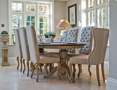 Luxury Dining Tables La Residence Interiors - Long oval dining table