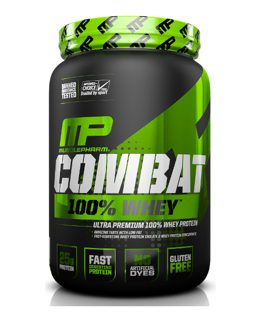 MusclePharm Combat 100% Whey 2lbs