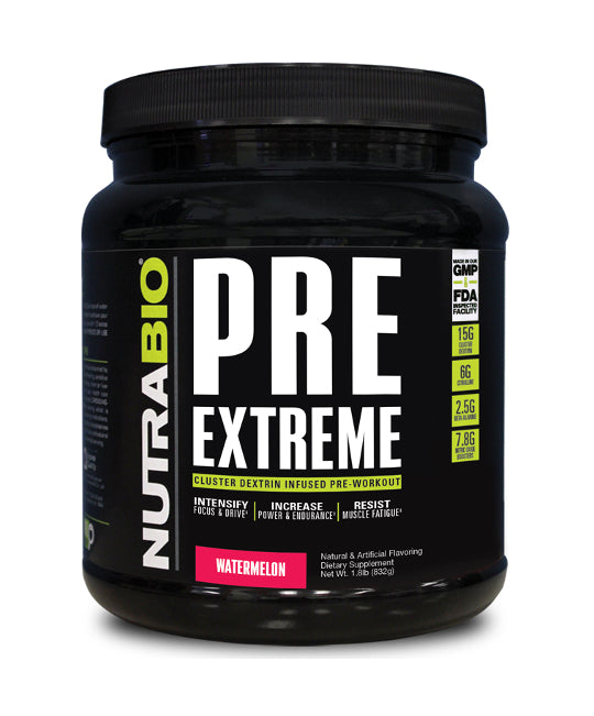 Nutrabio PRE Extreme Pre-Workout