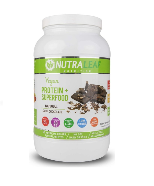 Nutraleaf Vegan Protein + SuperFood