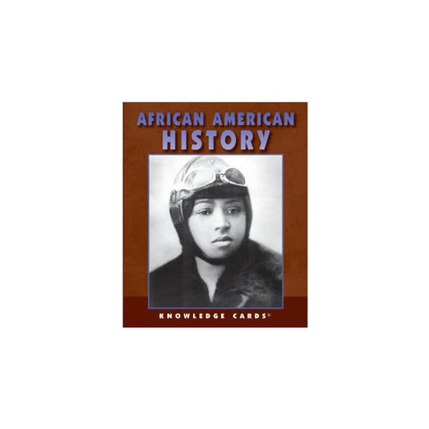 African American History Knowledge Cards