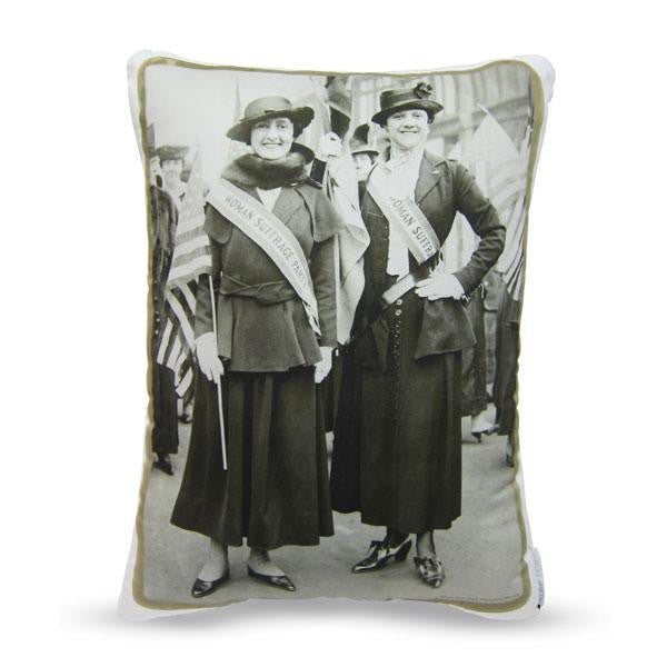 Two Suffragists Pillow