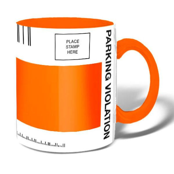 NYC Parking Ticket Mug Mug
