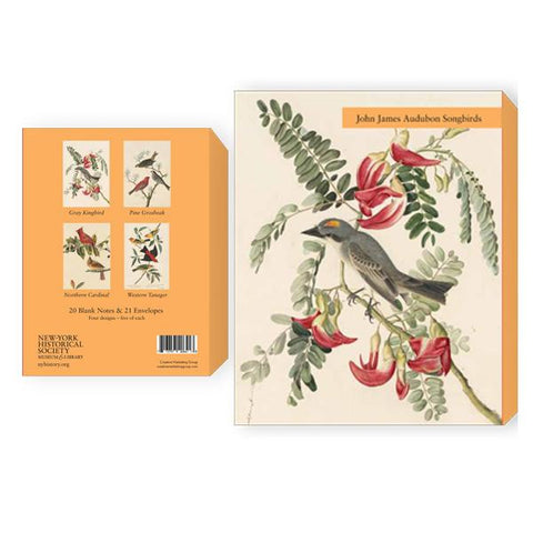 Audubon Songbirds boxed note cards