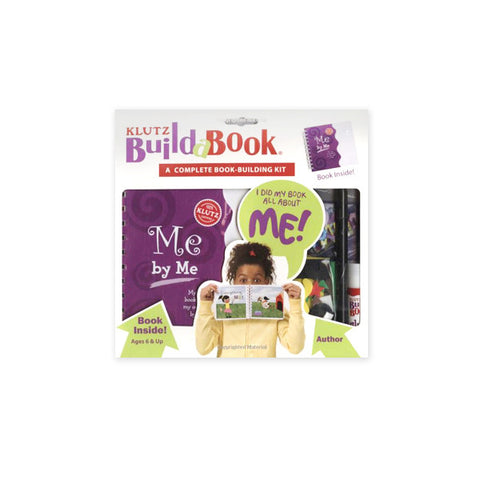Me by Me Build-a-Book (Book-Building Kit)