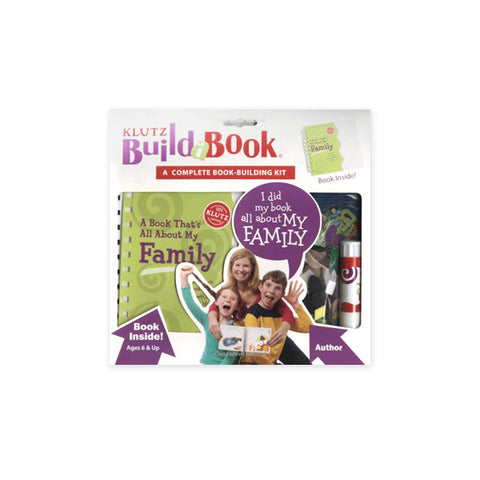 My Family Build-a-Book : A Book That's All About My Family (Book-Building Kit)