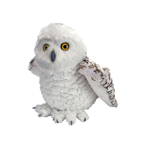 Snowy Owl Cuddlekin Plush