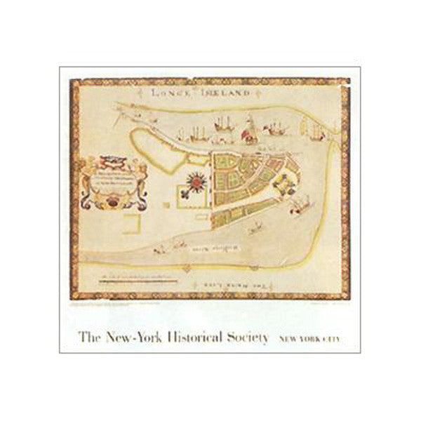 New Amsterdam, 1664 Poster