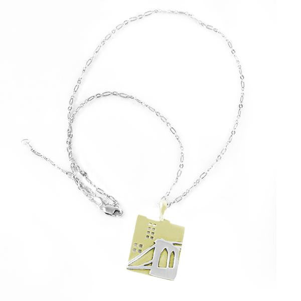 Brooklyn Bridge Charm Necklace - New-York Historical Society Museum Store