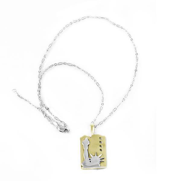 Statue of Liberty Charm Necklace