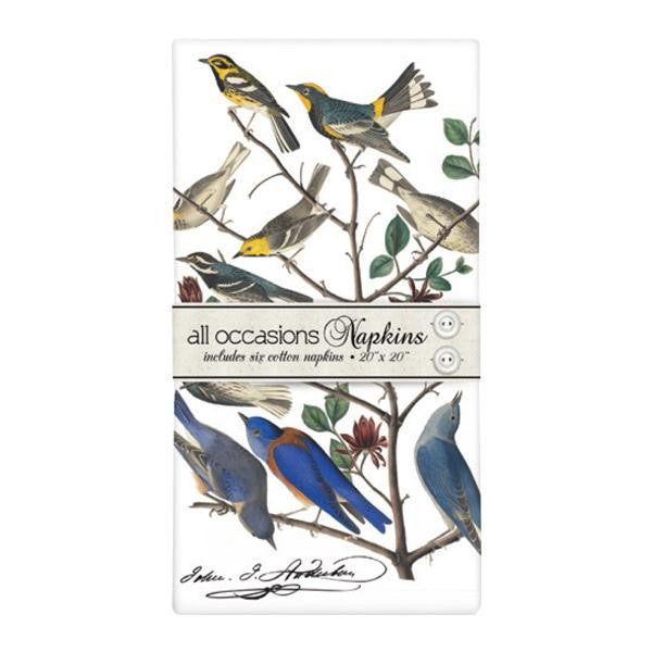 Warblers & Bluebirds Napkins