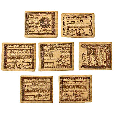 Colonial Banknote Set B