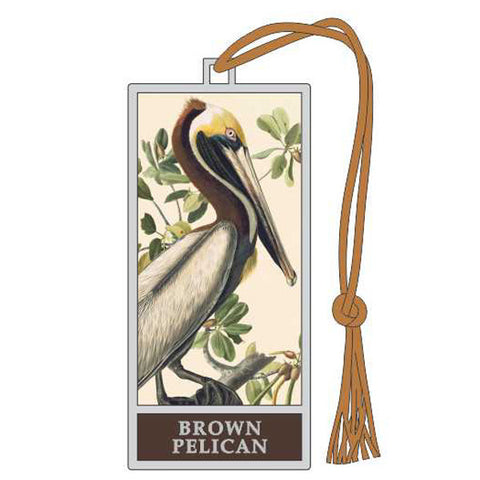 Brown Pelican Bookmark