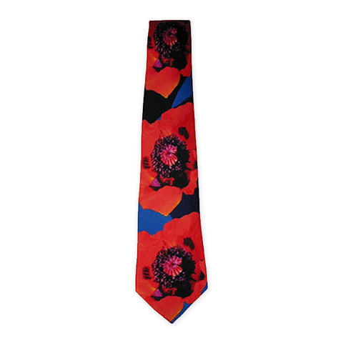 Poppy Remembrance Tie