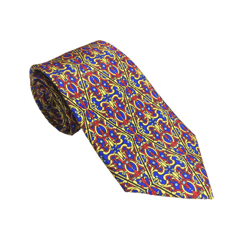 Louis C. Tiffany Elizabethan Tie Red