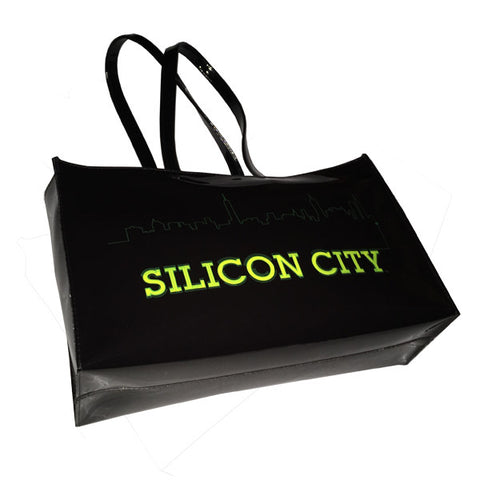 Silicon City Vinyl Tote Bag
