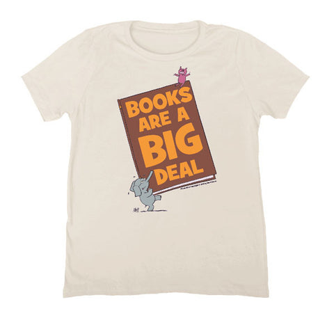 "Elephant & Piggie - ""Books Are A Big Deal"" Unisex T-Shirt"