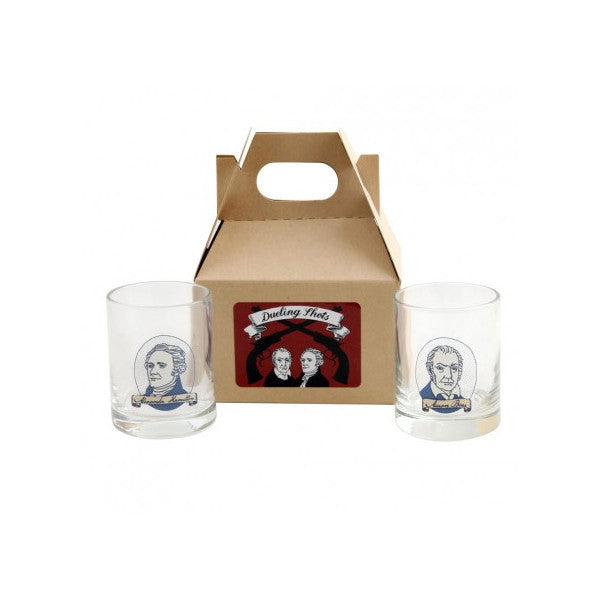 Hamilton Burr Dueling Shot Glass Set