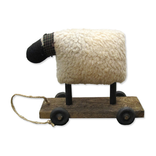 Sheep on a Cart