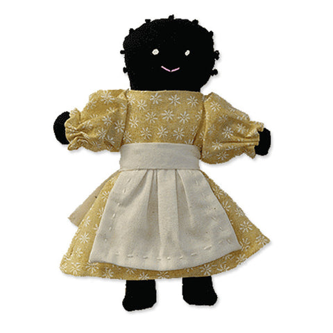 Little Black Folk Doll Kit