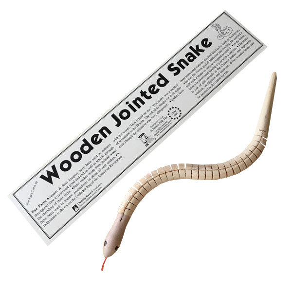 Wooden Jointed Snake