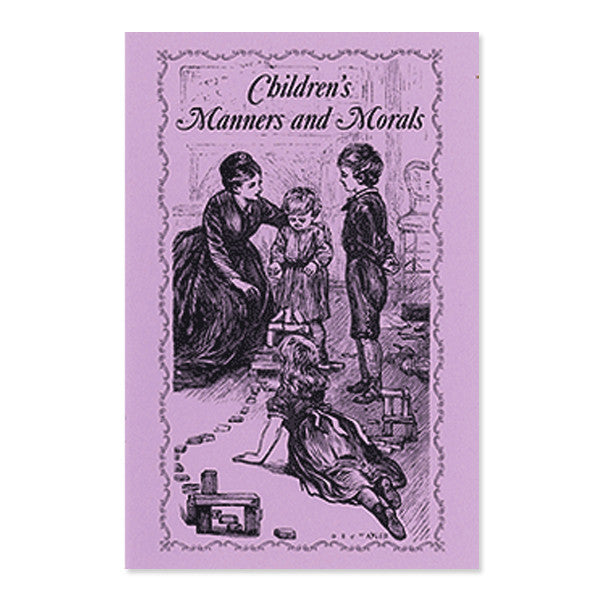 Children's Manners & Morals - New-York Historical Society Museum Store