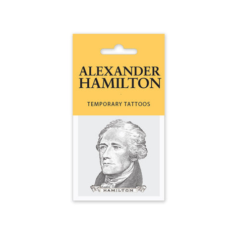 Alexander Hamilton Temporary Tattoo