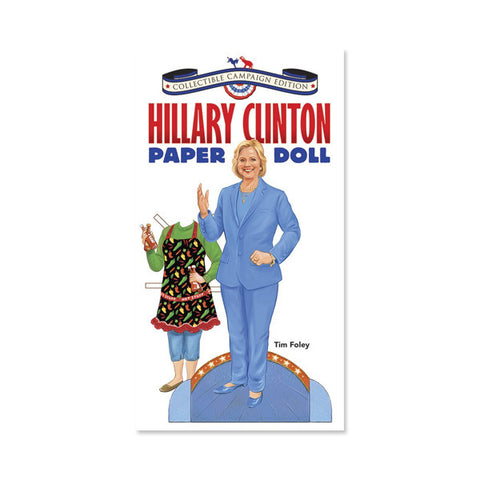 Hillary Clinton Paper Doll