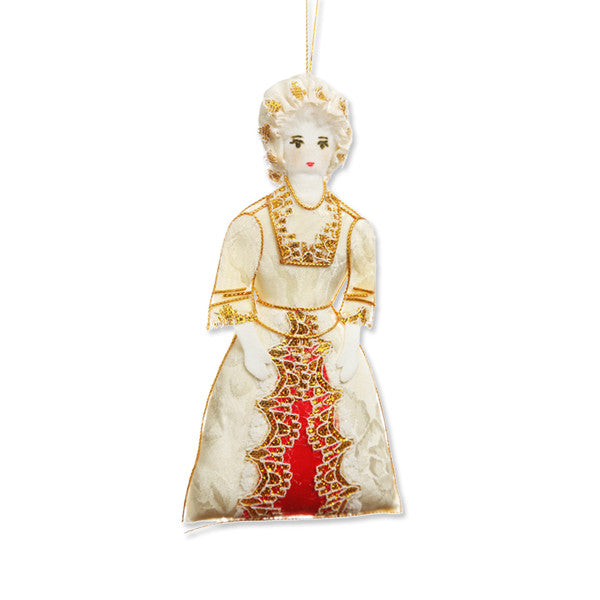 Martha Washington Ornament
